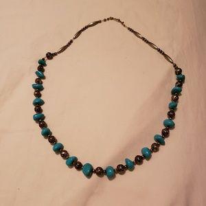 Vintage Southwestern silver necklaces